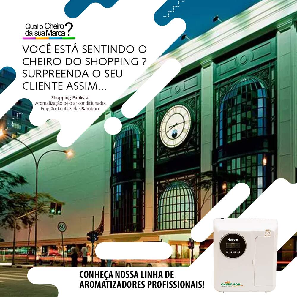 marketing olfativo shopping paulista