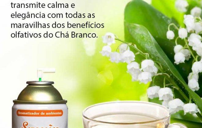 Aromatizador Chá Branco
