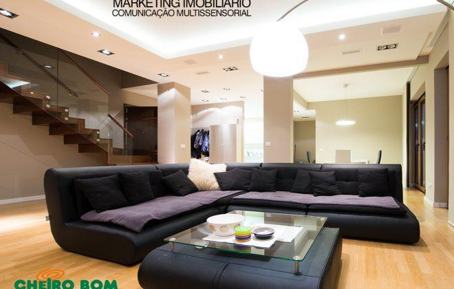 Aromatização profissional apartamento decorado