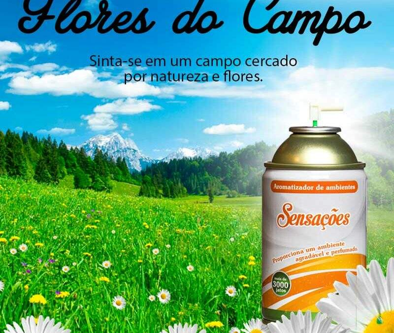Marketing Olfativo - Aromatizador Flores do Campo