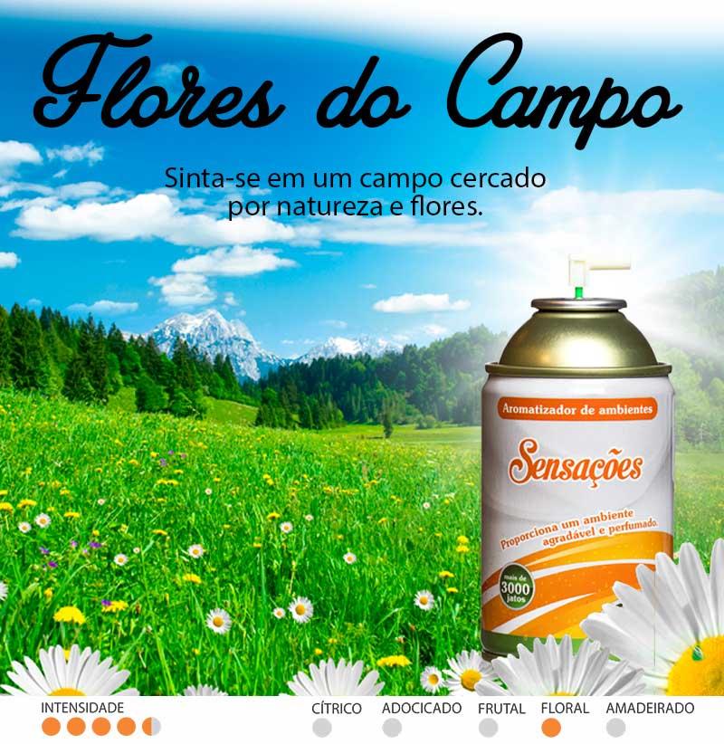 Marketing Olfativo - Aromatizador Flores do Campo