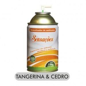 Aromatizador tangerina e cedro