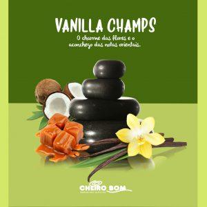 Fragrancias para Marketing Olfativo Cheiro Bom Vanilla Champs
