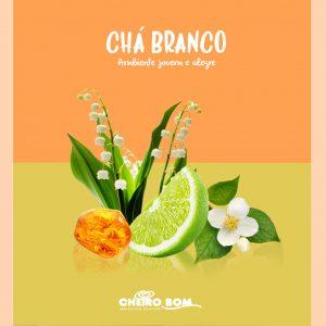 Fragrancias para Marketing Olfativo Cheiro Bom cha branco