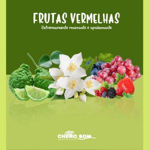 Aromatizador de ambiente frutas vermelhas
