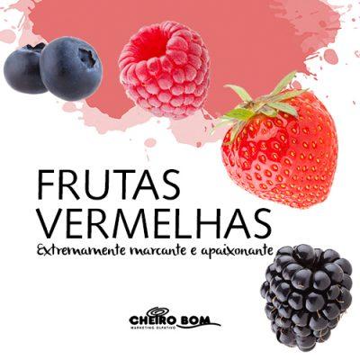 Frutas Vermelhas - Fragrância marcante - notas de uva, frutas vermelhas