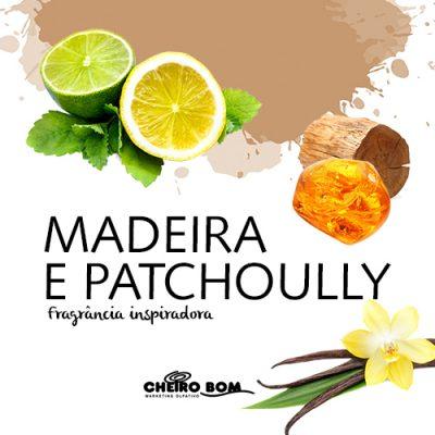 MADEIRAS E PATCHOULY - Notas de lavanda e patchouly