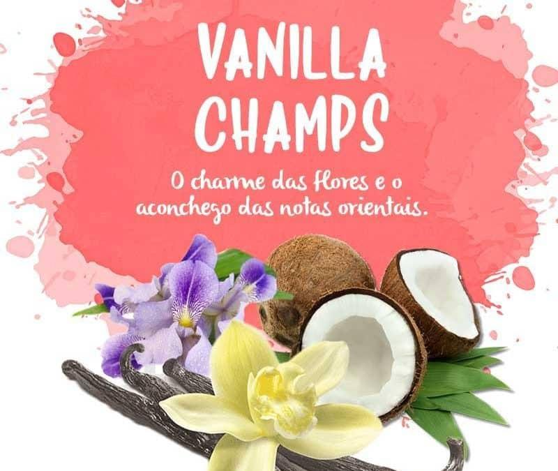 Flores orientais - vanilla champs