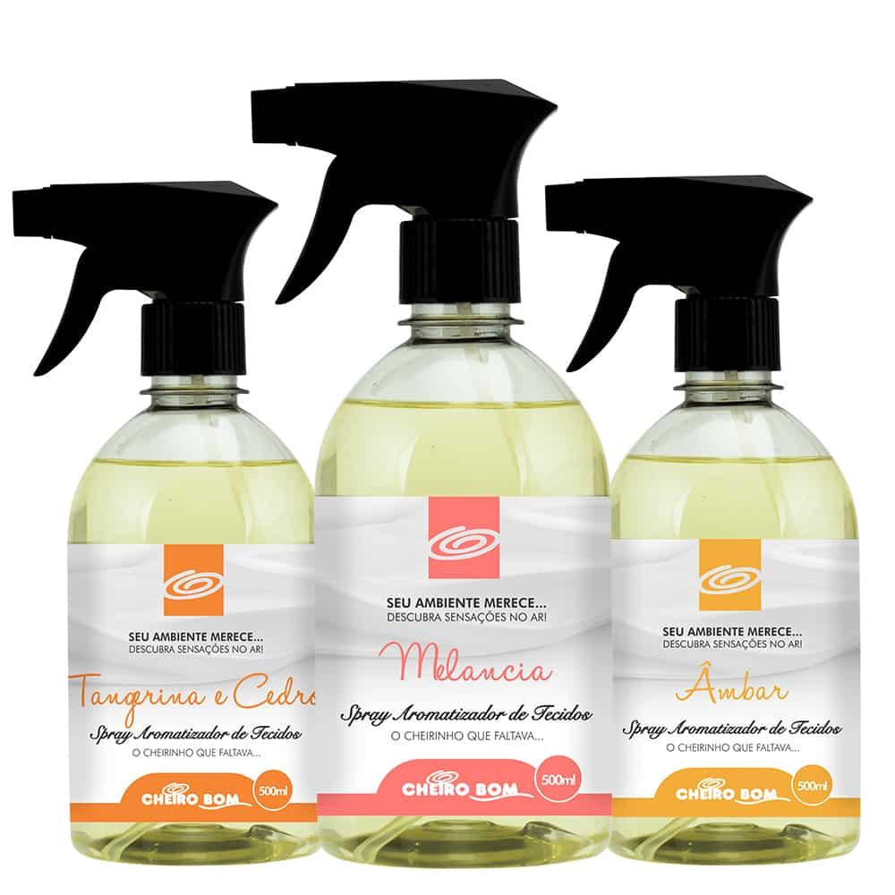 Água Perfumada / Spray para Tecido