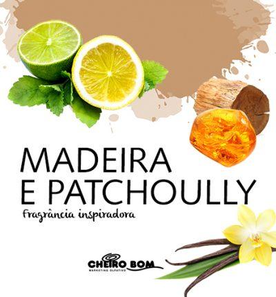 Aromatizador de Ambiente - Madeira e Patchoully