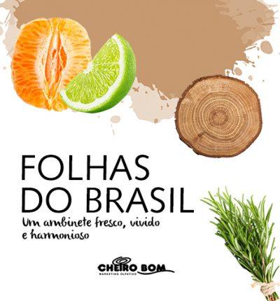 Aromatizador de Ambiente - Folhas do Brasil